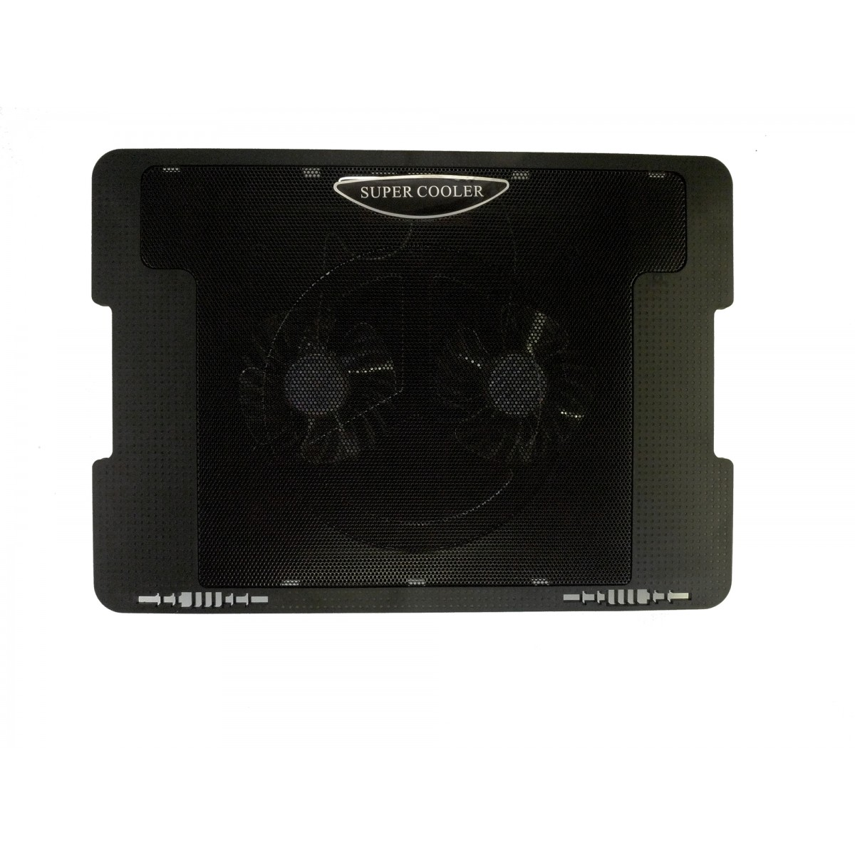 Notebook Laptop Cooling Pad 5 Adjustable Angle Dual Fan Cooler