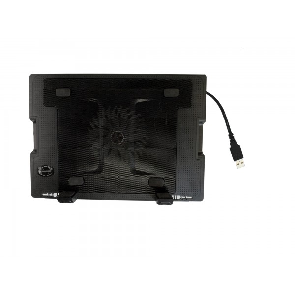 Notebook Laptop Cooling Pad 5-Adjustable-Angle with Large Fan