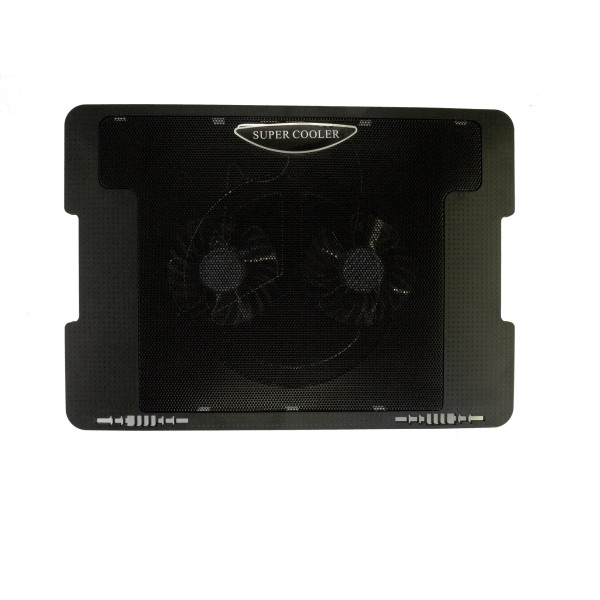 Notebook Laptop Cooling Pad 5-Adjustable-Angle Dual Fan
