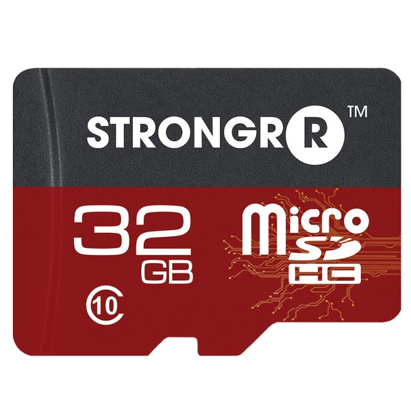 Strongrr 32GB MicroSDHC Class 10 UHS Memory Card
