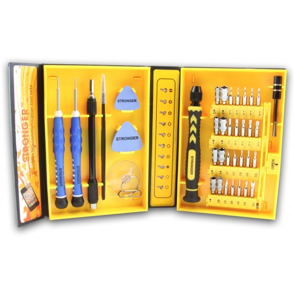 Multipurpose 38-Piece Precision Screwdrivers Repair Tool Set