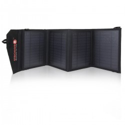 Strongrr 14W Solar Charger w/ Foldable High Efficient Monocrystalline Panels