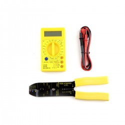 Strongrr Professional Computer & Electronic Repair Tool Kit with Digital Multimeter