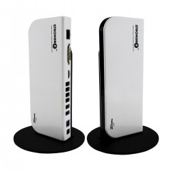 Strongrr USB 3.0 Universal Docking Station with Dual Video HDMI/DVI/VGA, Gigabit Ethernet, USB 3.0/2.0, and Audio Ports