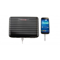 Strongrr PB160 Portable Solar Generator Power Pack 15600mAh Power Bank External Backup Battery (Black)