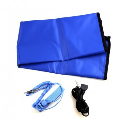 Anti-Static ESD Mat Kit with Wrist Strap and a Grounding Cord